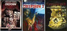 CREEPSHOW 1-2-3(III)Trilogy- Stephen King-George Romero Classics- NEW 3 USA DVD