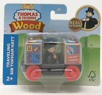 Thomas and Friends Sir Topham Hatt (Fat Controller) Wooden Train Car Railway Toy