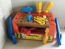 Fisher Price  vintage educatianal workbench #927 from 1980