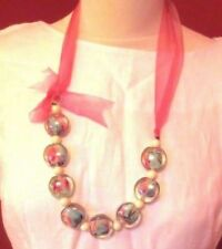 Onebutton Resin Necklace One Button