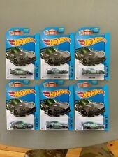 Lot of 6 2015 Hot Wheels 17/250 HW City Honda S2000 Gray and Green Kmart BH