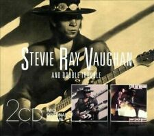 NEW 2CD set - STEVIE RAY VAUGHAN - TEXAS FLOOD + COULDN'T STAND the WEATHER -