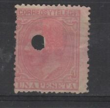 1879 Telegrafos Edifil 207T VC 9,00€
