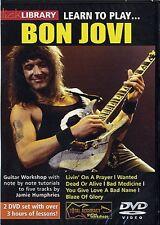 NEW LICK LIBRARY LEARN TO PLAY BON JOVI DVD ELECTRIC GUITAR RDR0081 JOHN BONJOVI