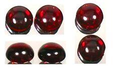 Antique 18thC Garnet Greek Roman Blood Amulet Gemstone Round Cab