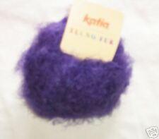 KATIA TECNO FUR Yarn-Purple