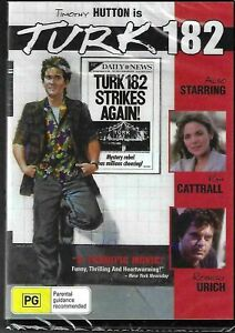 Turk 182 DVD Timothy Hutton Kim Cattrall New Sealed Australia