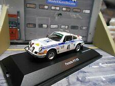PORSCHE 911 RS Carrera Rallye Safari Hermann Kühne & Nagel 1974 Schuco 1:43