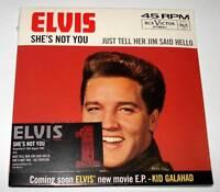 ELVIS PRESLEY : SHE'S NOT YOU 2-Track Numbered CD Single 2005  Mint/Sealed