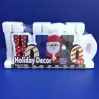 Santa Ho Ho Ho Holiday Plaster Decor Acrylic Paint Kids Childrens Craft Ages 6+