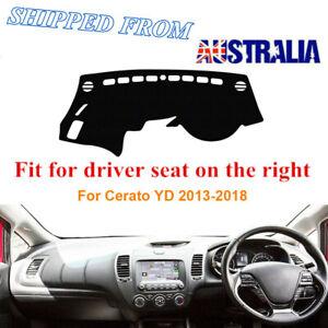 RHD Dashboard Dash Mat Dash Cover NoN-Slip For KIA CERATO 2013-2018