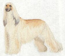 "Afghan Hound Dog - Embroidered Patch 5.4""x 4.8"""