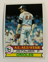 1979 Jim Palmer # 340 Baltimore Orioles Topps Baseball Card HOF
