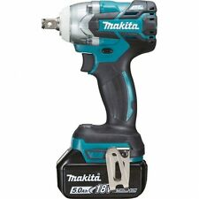 Makita DTW285RTJ 18v Brushless Scaffolders Impact Wrench 2x 5ah Batteries