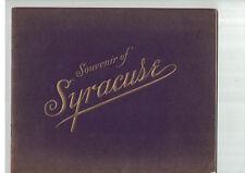 Souvenir Views of Syracuse Lyman H Nelson Company 1906