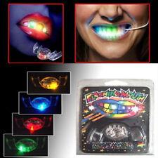 Farbe wechselnden LED blinkt Mundstück Gebiss Zähne Guard Party Geschenk lustig