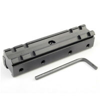 Hunting Military Rifle Scope Mount Base Adapter 11mm to 20mm Rail Base Adapter