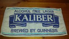 Vintage Kaliber beer towel Collectable