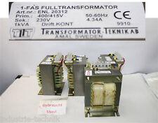 1 frankfurter allgemeine zeitung transformador 1kva 4.34a seg 230v transformador