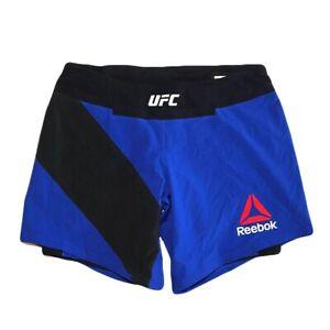 Reebok UFC CrossFit Women's Blue Octagon Speedwick Fight Night Long Shorts