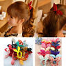 Fashion 10pcs Hair Tie Band Ponytail Holder Elastic Rubber Clear Women GIRL WL
