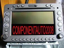 """ALFA ROMEO 159 RADIO CD MP3 NAVIGATORE+TEL. ORIGINALE DA 6,5""""+ CODICI.ED ALTRO"""