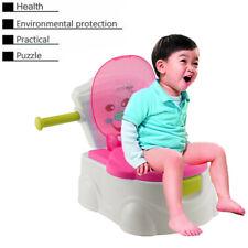 Pot Pour Bébé Toilette Enfant Siège Cabinet Ludique Apprentissage Propreté Pink