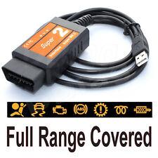 Cabe FORD FIESTA OBD Diagnóstico Escáner Herramienta Lector De Código De USB Cable de interfaz
