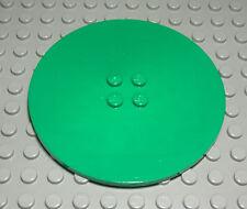 Lego Platte Ecke rund 4x4 Grün 2 Stück 480