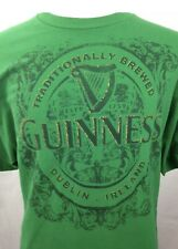 Guinness Shirt XL Irish Green Dublin Ireland Beer St Patrick's Day