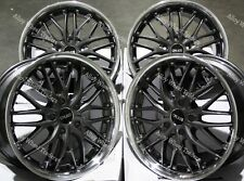 "Alloy Wheels 18"" 190 For 5x108 Ford Grand + C Max Edge Focus Galaxy Grey"