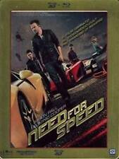 Blu Ray NEED FOR SPEED - (Ltd 3D Steel Book) (Blu-Ray 3D+Contenuti Speciali) NEW