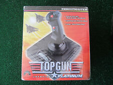 TOP GUN Thrustmaster 1996 Paramount Pictures Joystick Platinum SEALED NEW