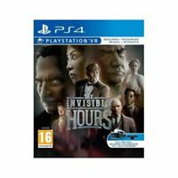 The Invisible Hours PS4 Playstation 4 VR Required **FREE UK POSTAGE!!**