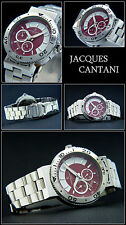 Sport: Biker JACQUES CANTANI Men's Watch Innovation Rotatable Body NEW