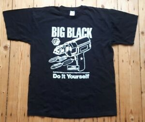 Big Black Do It Yourself  Vintage T shirt Shellac Steve Albini