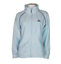 Women Fleece Jumper Blue Sweatshirt Top Uk 8 10 12 14 16