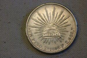 1898-Z  F.Z.  8 REALES COIN