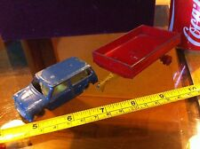 Dinky Morris Minor & Tipping Trailer Bundle Classic Original Diecast