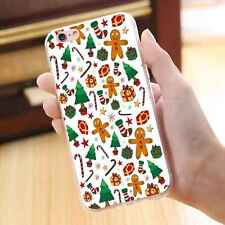 Cute Christmas Pattern Soft Silicone Gel Case Rubber Phone Cover for Cell Phones