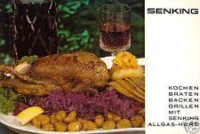Kochen, Braten, Backen, Grillen mit Senking Allgas-Herd, 1967
