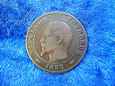 France 5 Centimes 1853 A F