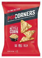 Popcorners Popped Corn Snack Kettle Corn Gluten Free Sweet & Salty 5 Oz., 2 Bags