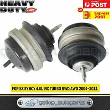 Engine Mounts for Ford Territory SX SY 2004-2011 4.0L AWD RWD Barra 190 Auto x 2
