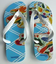 New Limited Edition Havaianas Chiso Print Flip Flop Sandals Thongs EU37-38 US7-8