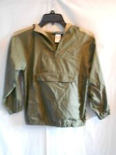 Gymboree Child Size 7 Green /Tan Jacket 3/4 Zipper Light weight