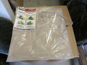 NOS Kawasaki Puig Clear Racing Windscreen 2011-2012 ZX10R 5603