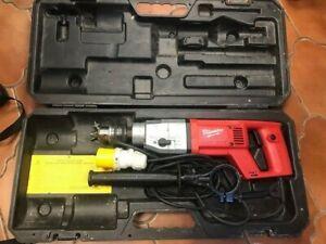 Milwaukee DD2-160 XE 2 Speed Dry Diamond Core Drill 110v - EX DEMO RRP £449