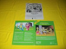T1 THE VILLAGE OF HOMMLET DUNGEONS & DRAGONS AD&D TSR 9026 2 MODULE