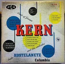 ANDRE KOSTELANETZ music of jerome kern LP VG+ CL 776 ALEX STEINWEISS 1956